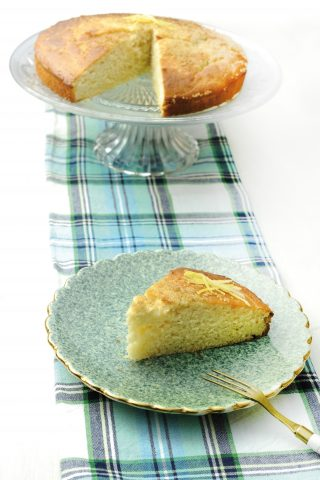 Torta semplice al limone al bimby