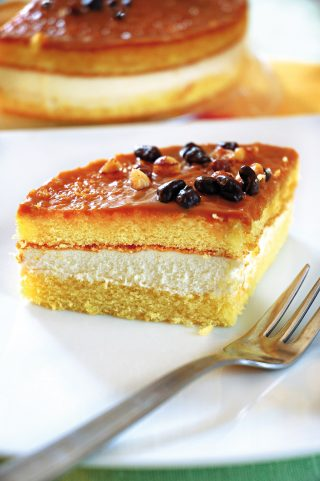 Torta soffice con crema alla ricotta e marmellata di arance al bimby