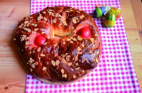 Tsoureky: il pane greco di Pasqua al bimby