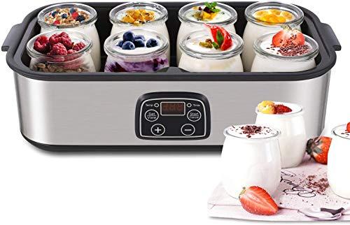 Yogurtiera con 8 vasetti MVPower
