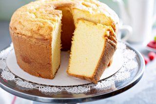 Angel cake al miele