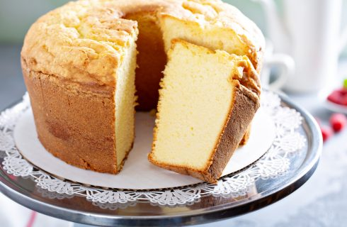 Angel cake al miele