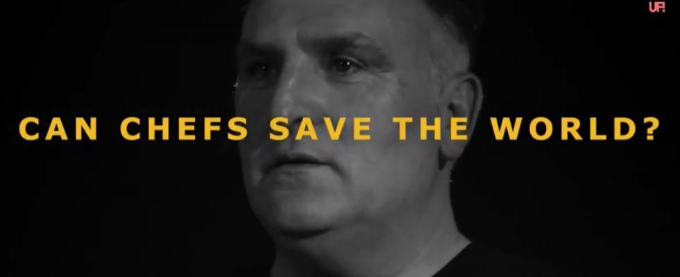 Gli chef salveranno il mondo: una web serie racconta come
