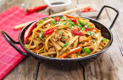 Chow mein, cucina orientale