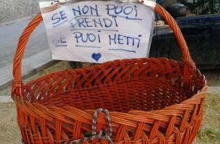 Ceste sospese a Milano (e non solo) per chi è in difficoltà
