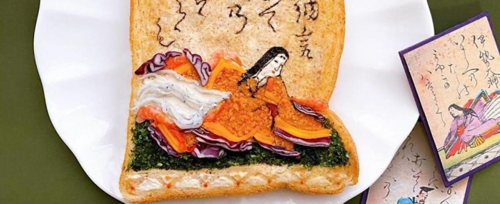 Toast Art: piccoli quadri che puoi mangiare