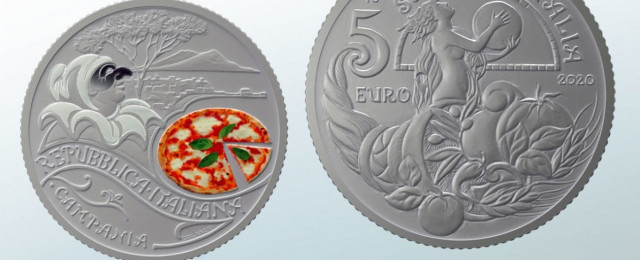 Nasce una moneta dedicata alla pizza