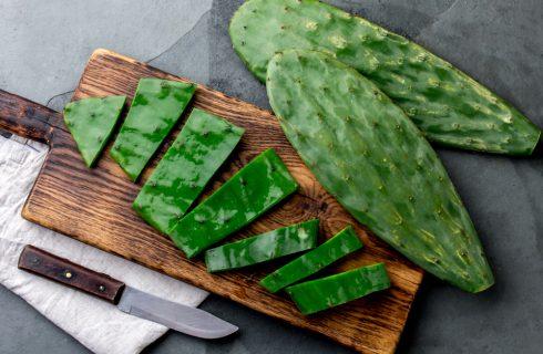 Un cactus che si mangia e fa bene: nopal