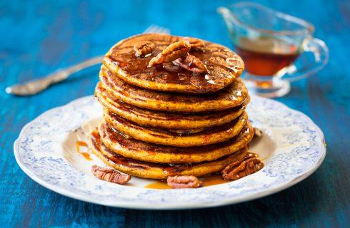 Pancakes alle noci