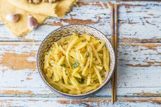 Patate agropiccanti: Suan Tian Tu Dou Si