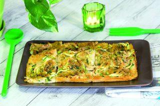 Sformato di semolino con zucchine