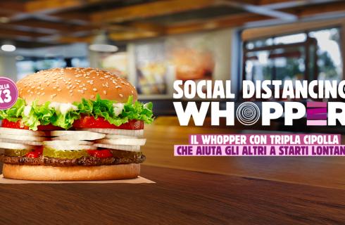 Mangiato da Noi: Burger King Social Distancing Whopper