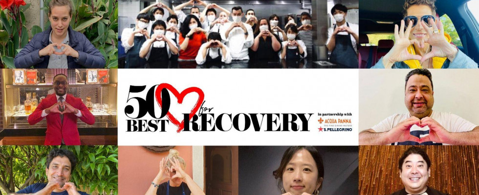50 Best lancia l'asta per aiutare i ristoranti: Bid for Recovery