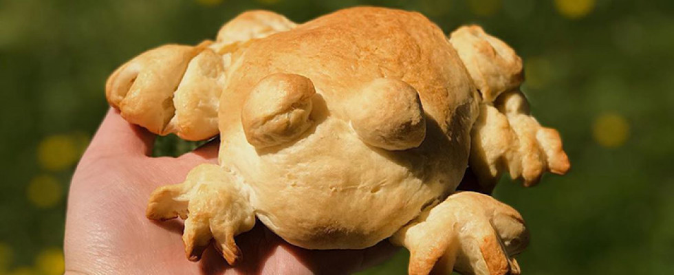 Frog bread, l'ultima fissa dei panificatori social
