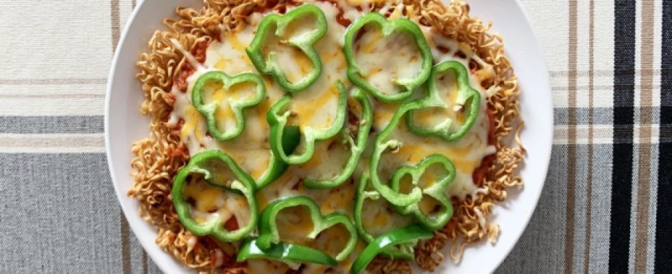 In Giappone anche la pizza si fa con il ramen