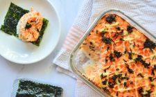 Sushi bake: il sushi che si prepara in forno