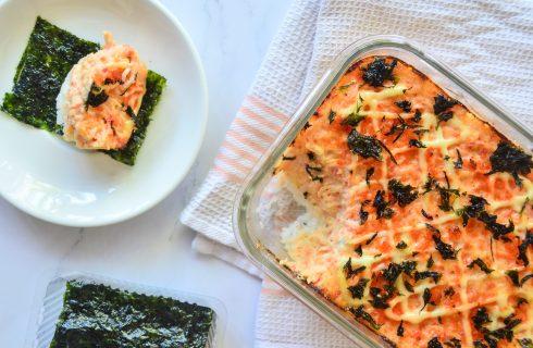 Sushi bake, il sushi si prepara in forno