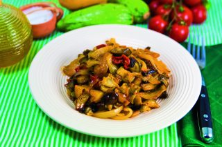 Teglia di verdure miste al curry