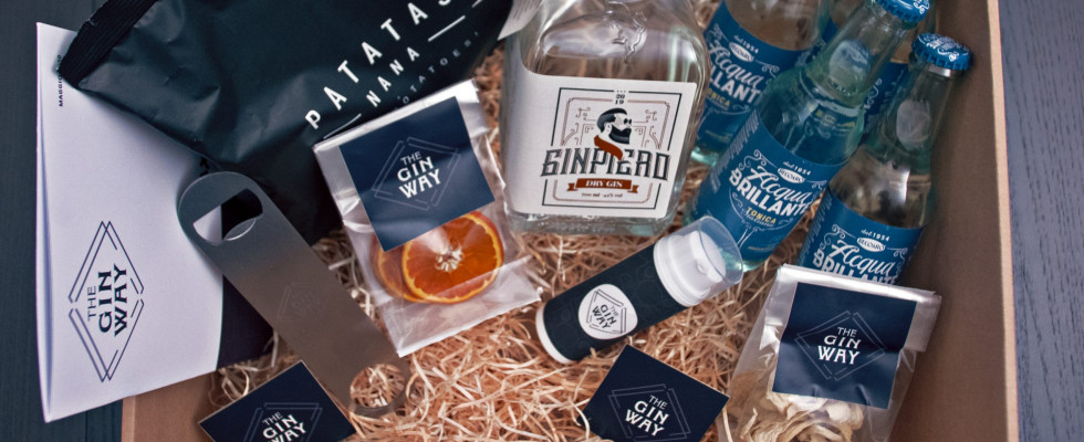 The Gin Way: gin a domicilio per scoprire il distillato in maniera differente