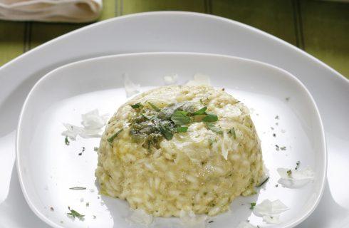Timballo di riso al pesto al bimby