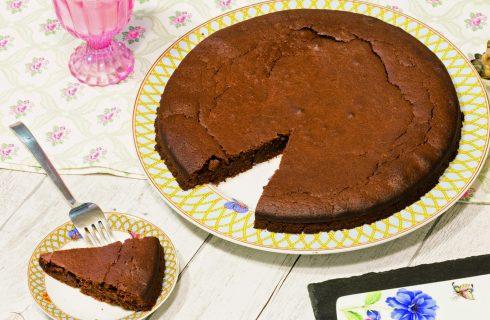 Torta brownies vegana