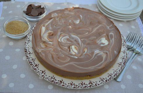 Torta fredda marmorizzata al bimby