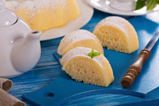 Torta di limone e semolino