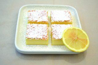 Torta magica al limone al bimby