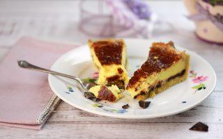 Crostata al mascarpone e cioccolato