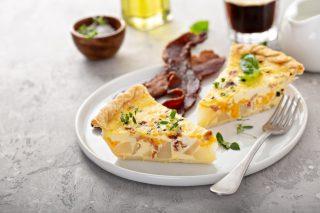 Tortilla di patate e bacon