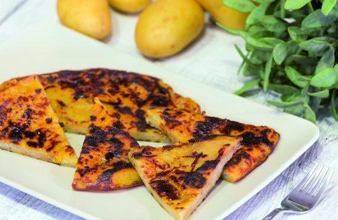 Tortilla di patate vegana