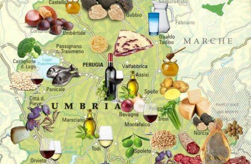 Umbria Food Map: scoprire i migliori piccoli produttori