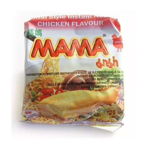 Mama oriental style chicken noodles