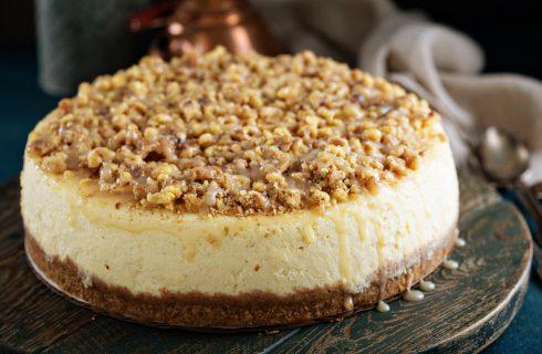 Cheesecake alle arachidi, peccato di gola