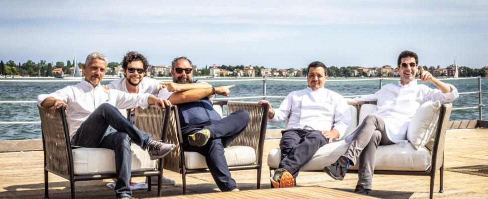 Alajmo in laguna con Hostaria in Certosa: venite a scoprire questa Venezia