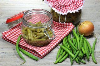 Fagiolini sottolio: conserve estive