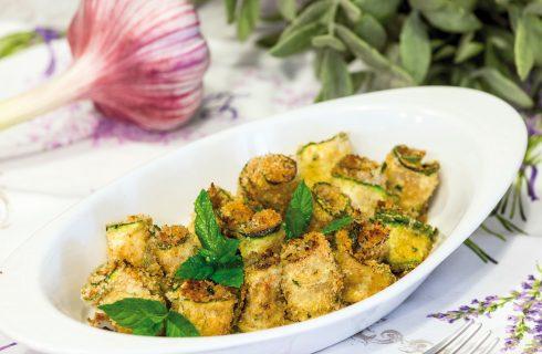 Girelle di zucchina: contorno di stagione