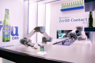 Heineken inaugura il robot bar zero contatto