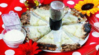 Pizza Cacio e pepe di Stefano Callegari