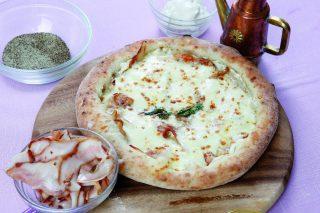 Pizza cicoli e ricotta