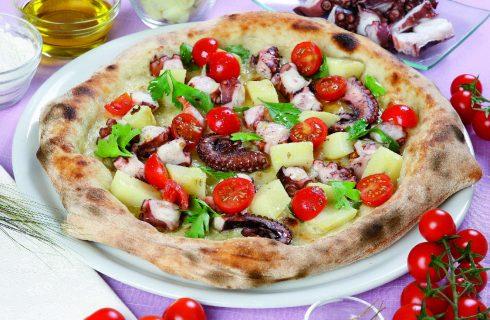 Pizza con polpo e patate: la pizza dell'estate