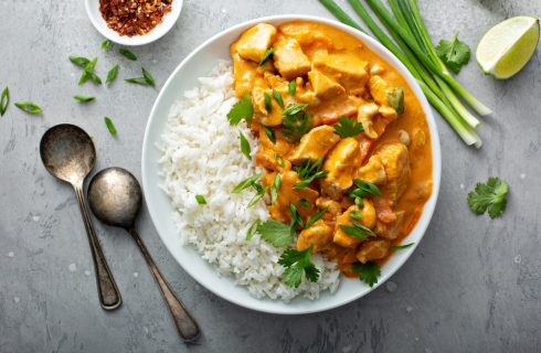 Pollo al curry e anacardi, ti porto in oriente