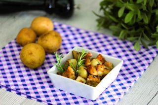 Tempeh arrosto con patate