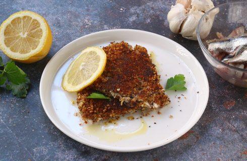 Tortino di alici in padella, secondo gustoso di tradizione Calabrese