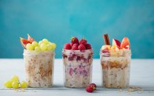 Provate l'overnight oats senza cottura