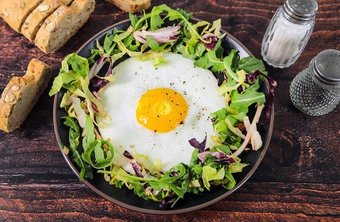 Uovo all'occhio di bue: come farlo perfetto