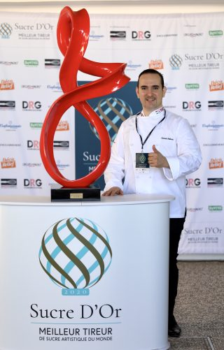Davide Malizia vince il Sucre d'Or: è lui il Maestro dello zucchero mondiale