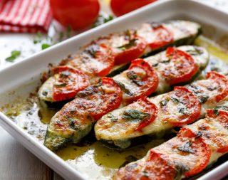 Barchette di zucchine senza carne