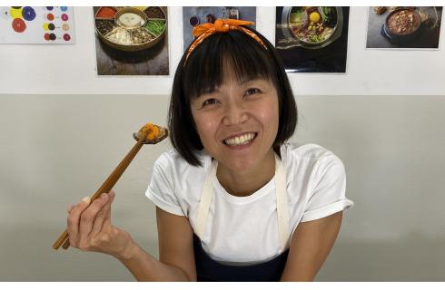 Se vuoi imparare a cucinare coreano, puoi farlo online