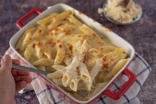 Mac and cheese al forno